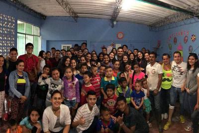 Grupo juvenil promueve campaña por niños de vereda Buena Vista