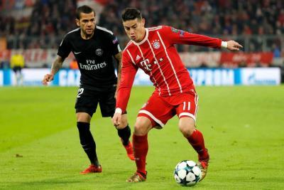 Las razones del buen momento de James en el Bayern Múnich