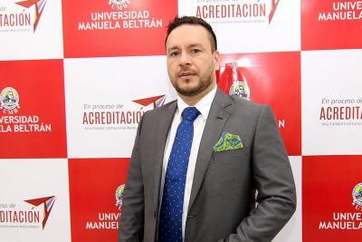 Universidad Manuela Beltrán destaca labor del abogado Sergio Flórez
