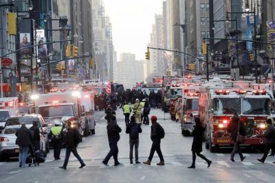 Autoridades confirman cuatro heridos tras explosión en Nueva York