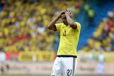 ¿Edwin Cardona jugará el Mundial de Rusia? Fifa lo sancionó con 5 fechas
