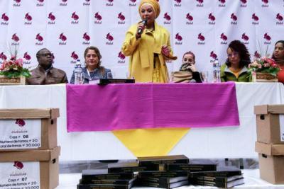 Piedad Córdoba se inscribió como candidata presidencial