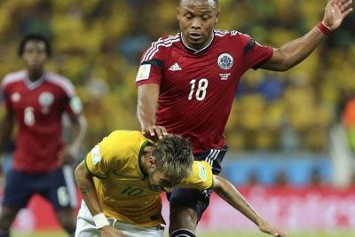"""""""Zúñiga es el peor jugador"""": Neymar"""