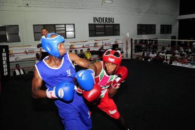 Gran velada boxística en el Edmundo Luna Santos