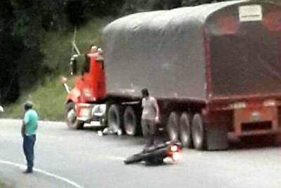 Una mujer murió en un accidente de tránsito en Santander