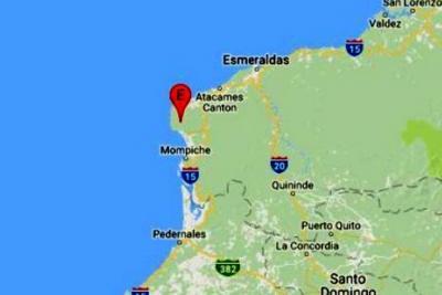 Tres sismos sacudieron este domingo a Ecuador