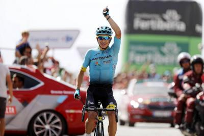 López renovó con Astana  y correrá el Giro de Italia