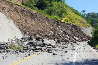 Vía entre Bucaramanga y Barrancabermeja permanece cerrada