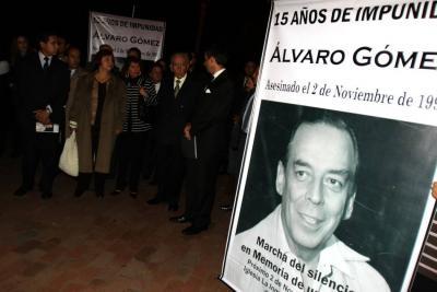 Estas fueron las pruebas que hicieron declarar crimen de Gómez Hurtado como de lesa humanidad