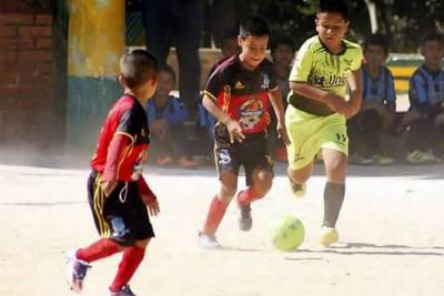 El gol se pasea por el Mundialito Sub Baby