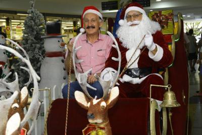 El entrenador de Papás Noel de Bucaramanga