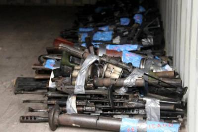 Inicia destrucción de 240 caletas con armas de las Farc