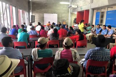 142 familias cocaleras de Yondó buscan el reconocimiento estatal