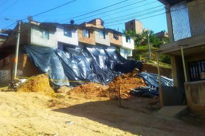 Alcaldía y AMB construirán muro de contención en Juan Pablo II