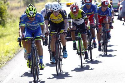 Colombiano William Muñoz es tercero en la Vuelta a Costa Rica