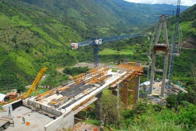 Habría retrasos en entregas de puentes en vía Curos-Málaga