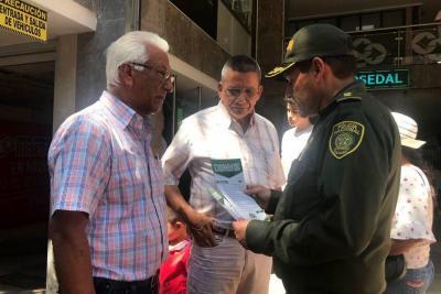 Policía redobla esfuerzos  en prevención del fleteo en Bucaramanga