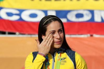 Mariana Pajón, involucrada en un accidente de tránsito en Medellín