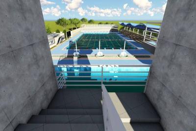 Así será el centro acuático que se construirá en Piedecuesta