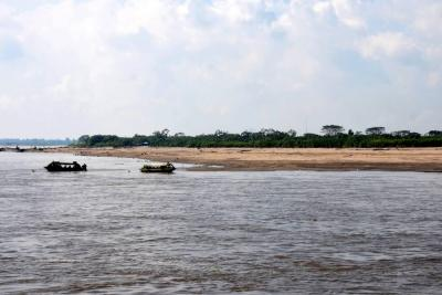 Navegación por el río Magdalena en Santander empezó a registrar afectación