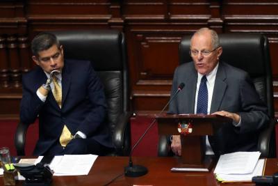 El Congreso de Perú rechaza el pedido de destitución del presidente Kuczynski
