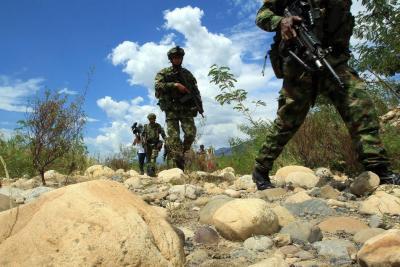 30 soldados resultaron afectados por la caída de un rayo en Popayán