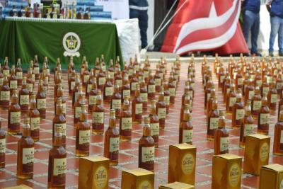 Cerca del 22% del alcohol que se consume en el país es ilegal