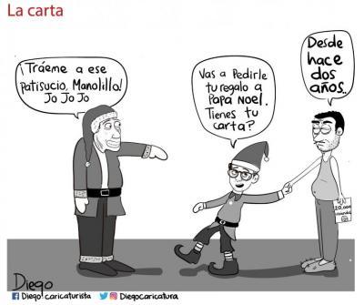 Vea la caricatura sobre las 20 mil viviendas en Bucaramanga
