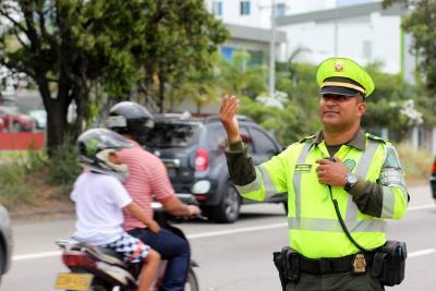 Se redujo 32% accidentes y 58% heridos en Bucaramanga durante Navidad