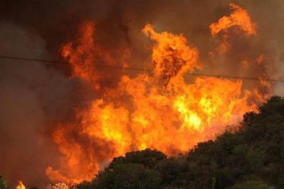 79 municipios de Santander en alerta roja por incendios