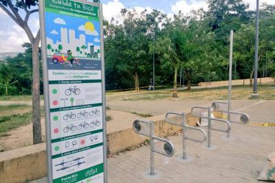 Esta semana finaliza adecuación de 65 bici parqueaderos en el área metropolitana