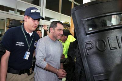 Exjefe paramilitar alias 'HH' ya está en Colombia