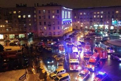 10 heridos dejó explosión de una bomba en San Petersburgo, Rusia