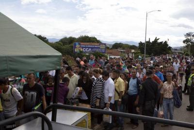 Mano de obra colombiana, desplazada por venezolana