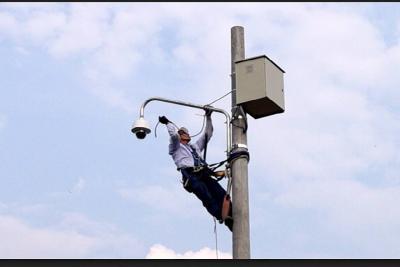 Cámaras de vigilancia apoyan la seguridad