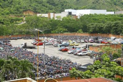 Tránsito de Bucaramanga pospuso hasta enero la chatarrización de 1.900 vehículos