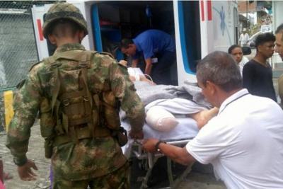 Campesino perdió parte de una pierna tras activar una mina antipersonal