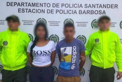 Cayeron tres personas vinculadas a casos de extorsión en Santander