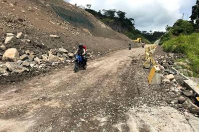 Tras cese de lluvias, reabren la vía Bucaramanga Barrancabermeja
