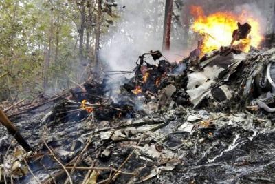 12 personas murieron tras caída de una avioneta en Costa Rica
