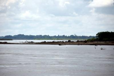 En Cantagallo sufren por la sequía  y los bajos niveles del río Magdalena
