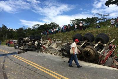 Muere joven de 14 años en accidente de tránsito en vía de Santander