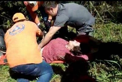 Accidente en el sector La Cachama deja una herida