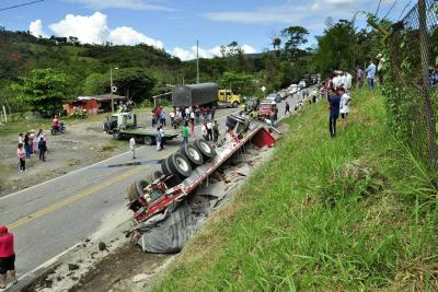 Un muerto y un herido en trágico accidente en Santander