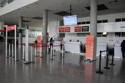 Aeropuerto Yariguíes, con tendencia a la baja
