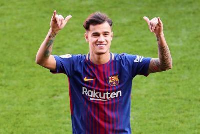 Coutinho llegó lesionado al Barcelona y será baja durante tres semanas