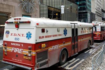 Dos heridos en incendio de la Torre Trump en Estados Unidos