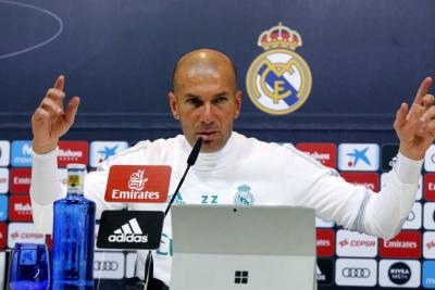 """""""La culpa es de todos, yo el primero"""": Zidane sobre crisis en el Real Madrid"""