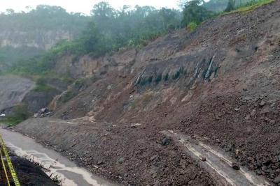 Estudios geológicos definirán qué pasará en la vía entre Bucaramanga y Barrancabermeja