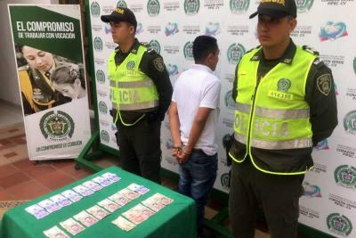 Capturado asaltante luego de una cinematográfica persecución en Bucaramanga